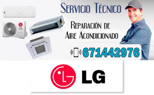 Reparacion Aire Acondicionado LG